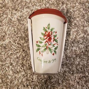 Lenox Christmas Thermal Travel Mug